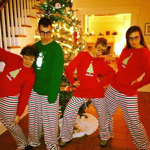 【ELLEgirl】レナ・ダナム&ジャック・アントノフ|クリスマスはLet's パジャマ☆パーティ!|エル・ガール・オンライン
