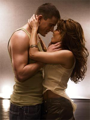 I seriously LOVE him.  Channing Tatum likes to hide love notes around his house for his wife of nearly three years, Jenna Dewan.  They met on the set of Step Up.