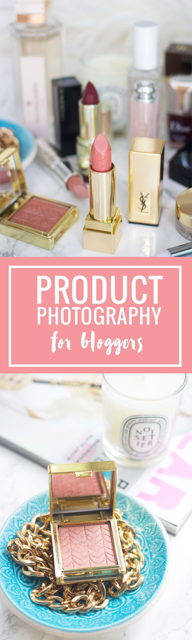 Product photography tips for bloggers - great ideas and suggestions that any blogger should read