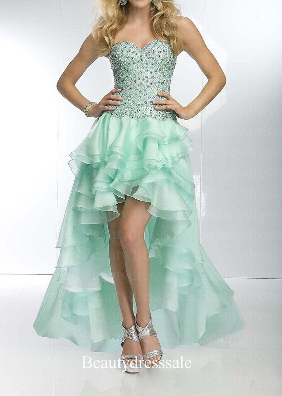 High low prom dresses