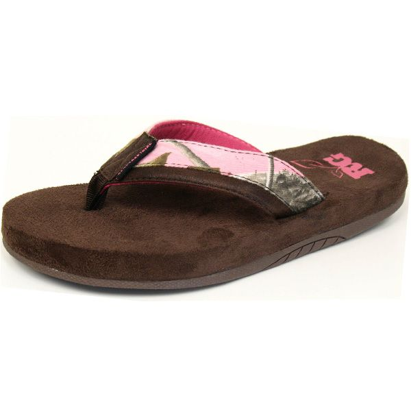 50c480cacb2f ... Flip Flops  realtree pink camo shoes Pink Camo Sandals Realtree Girl® Camo  Sandals ...