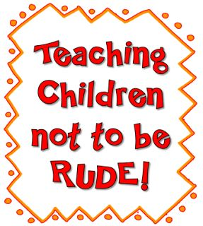 Corkboard Connections: Teaching Children Not to Be Rude!