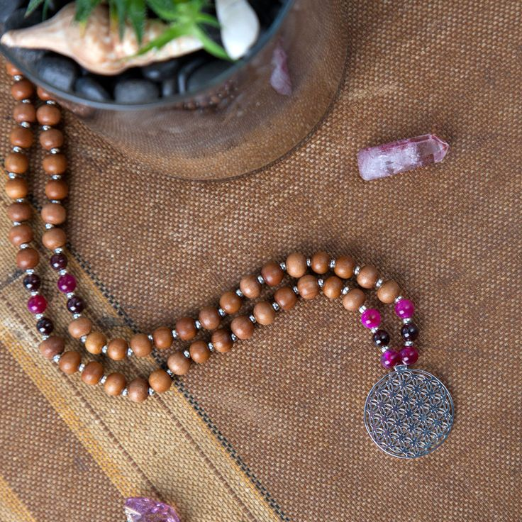 Cleansing Flower of Life Mala