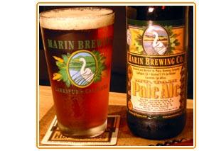 Mt Tam Pale Ale, Marin Brewing Company, Larkspur, CA