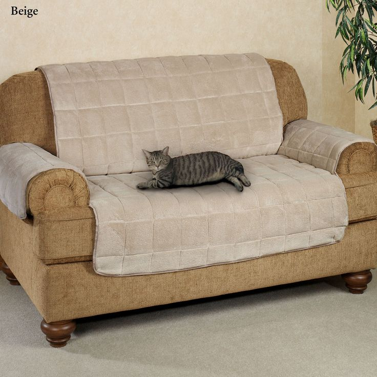 Microplush Pet Furniture Sofa Cover Sofa