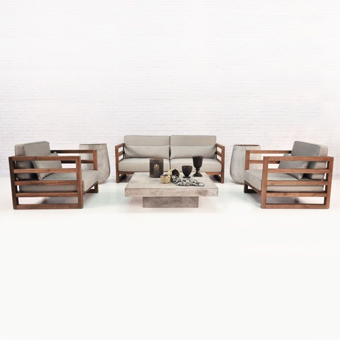 The Manhattan Reclaimed Teak Furniture Collection Is A Stunning Set With A  Modern Vibe And Yet Feels Tranquil And Serene. Made Of High Quality  Reclaimed ...