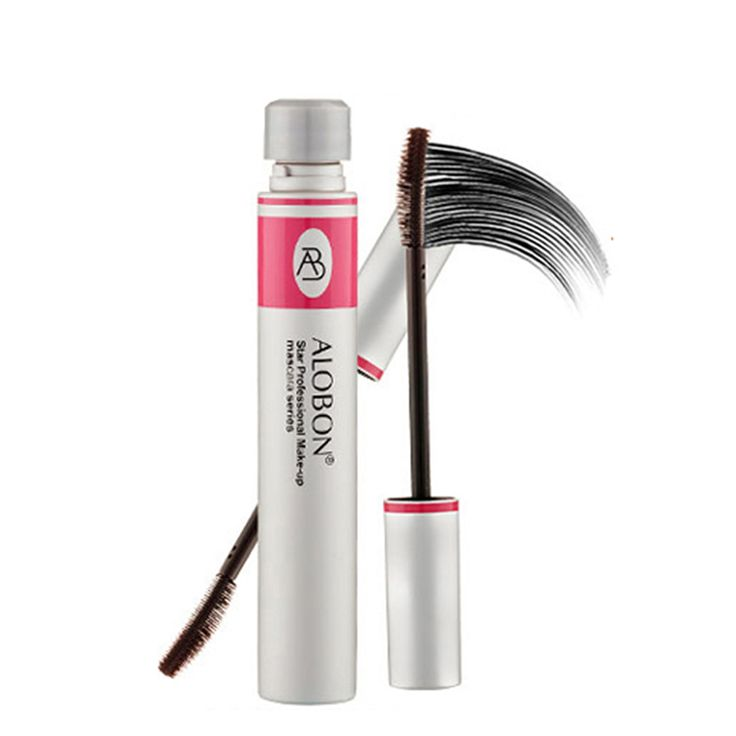 Mascara  False Eyelashes Extension Colossal Volume Mascara Black Ink Alobon 3d Fiber Lashes Makeup *** AliExpress Affiliate's Pin. Offer can be found by clicking the VISIT button