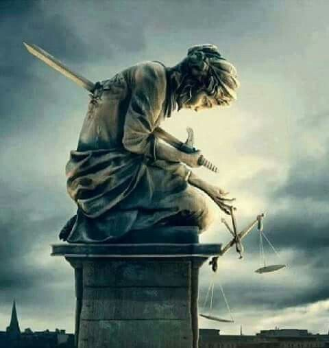 Lady justice 2016...                                                                                                                                                     More