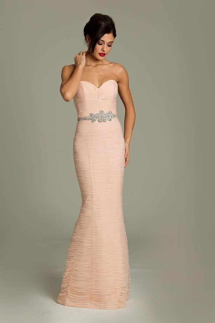 119 best bridesmaid dresses images on pinterest evening gowns strapless jovani netted bridesmaid gown could have each girl do a different belt ombrellifo Images