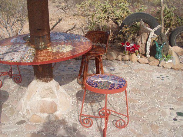 Palyapa table & stool Mulege