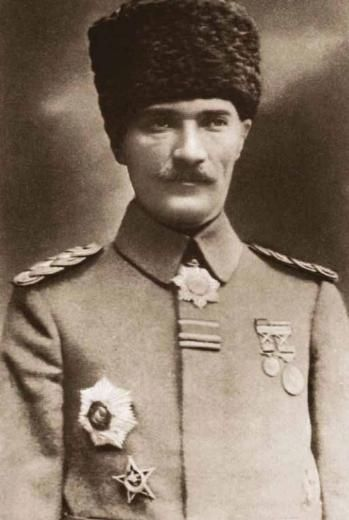 1916 - 1922 yılları arası Atatürk fotoğrafları