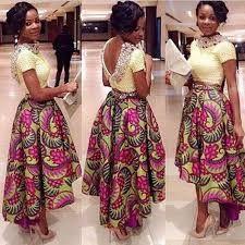 Resultado de imagem para modelos de roupa com tecidos africanos