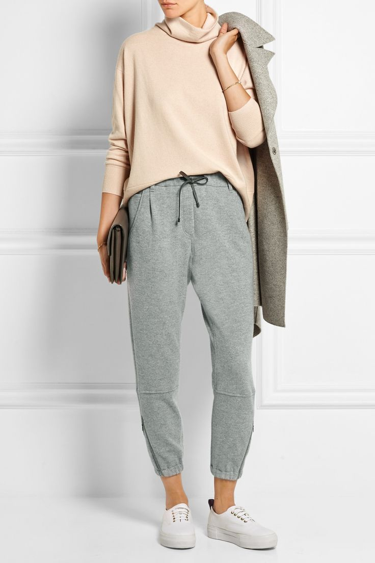 BRUNELLO CUCINELLI Cashmere turtleneck sweater  €1,515.00 http://www.net-a-porter.com/products/615347