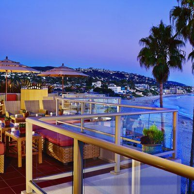The Pacific Terrace Bar - The Best Rooftop Bars on the Coast - Coastal Living
