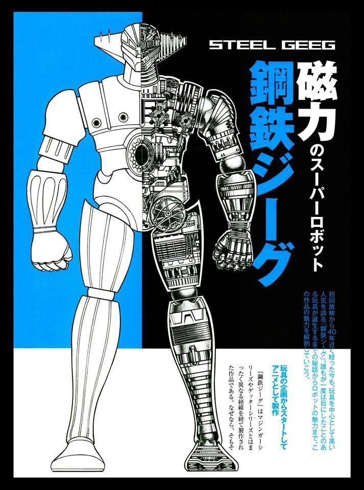 Kotetsu Jeeg - Jeeg Robot D'acciaio - Steel Geeg mechanical settei