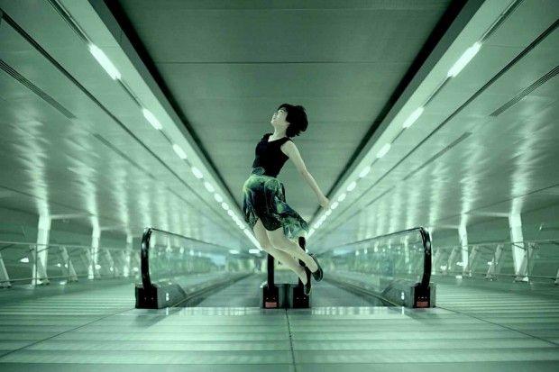 Giappone, levitazione senza fotoritocco