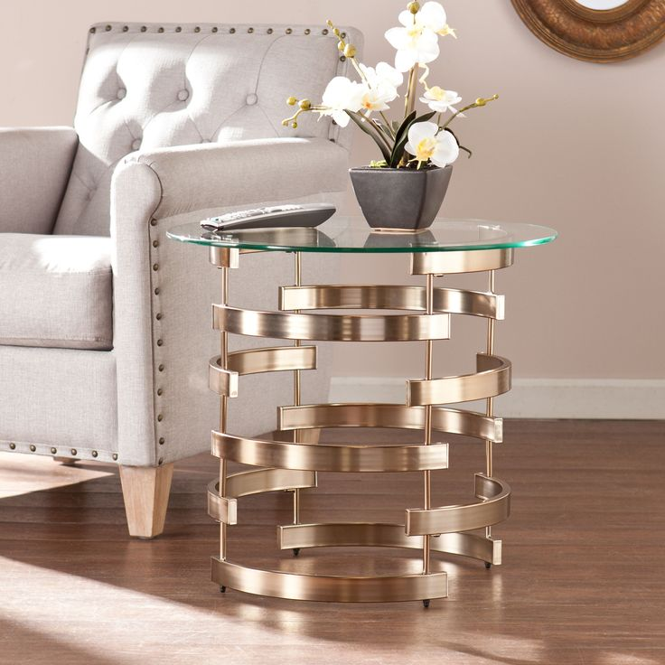 Enhance The Look Of Your Contemporary Living Room With This Divine Harper  Blvd End Table. Amazing Design
