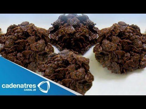 Receta de enjambres de chocolate. Receta de enjambres / Receta con chocolate - YouTube