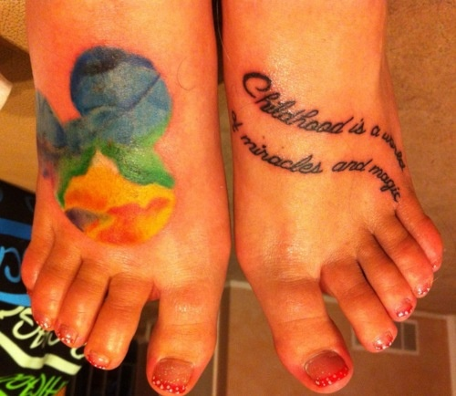 30 best images about mickey quotes on pinterest disney for How to shower with a new tattoo