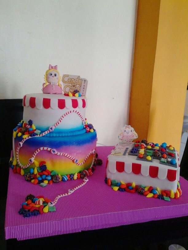 Torta de candy crush