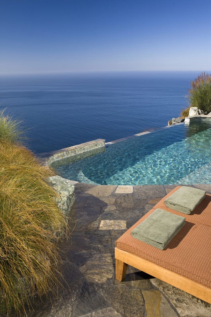 Post Ranch Inn.  Nestled on the cliffs o Big Sur, California, Post Ranch Inn provides he ultimate accommodations for a romantic getaway for those seeking a luxurious scape for a honeymoon, anniversary or a relaxing vacation.  ASPEN CREEK TRAVEL - karen@aspencreektravel.com