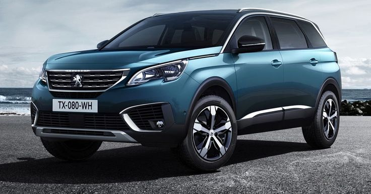 Peugeot Debuts All-New 5008 As A 7-Seater SUV #New_Cars #Paris_Auto_Show