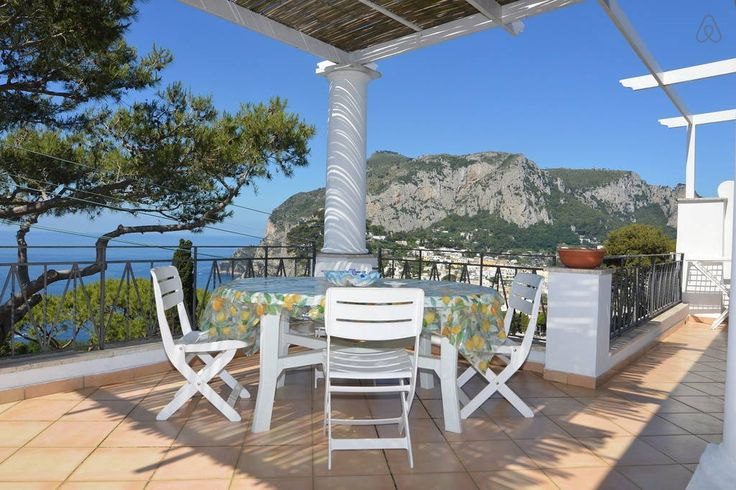 Check out this awesome listing on Airbnb: Sea View Villa Capri 3 BDR 2 Baths - Apartments for Rent in Capri