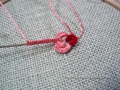 Cast-On Stitch Rose