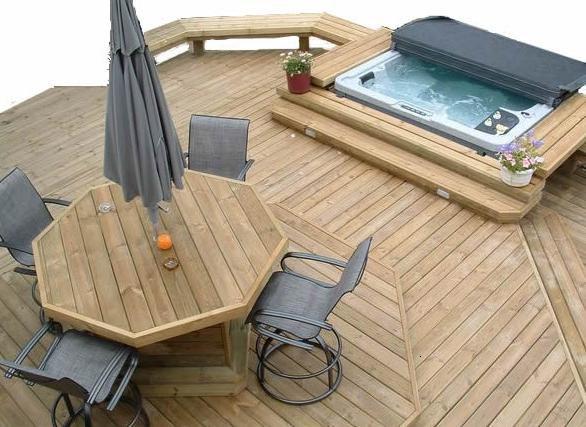 wood decks | Blue Lagoon Pools | Decks And Fencing