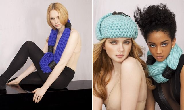 Невязаный шерстяной шарф (DIY)