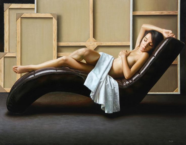 Realistic paintings by Omar Ortiz #Art #Painting #ContemporaryArt #Realism