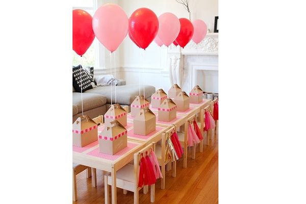 Souvenirs con globos de helio, una alternativa para el fin de fiesta. Foto: Fotos: Gentileza Party Go!