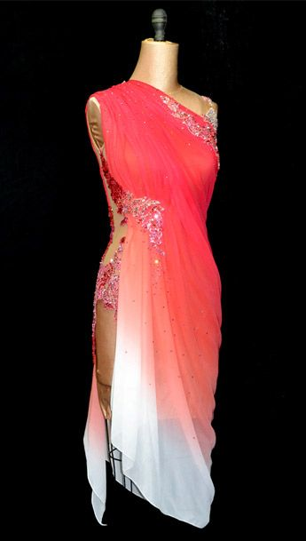 Ombre latin dress