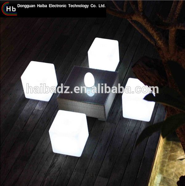 online shopping china supplier furniture Factory Direct Sales Color Changing Living Room LED Cube Seat Lighting