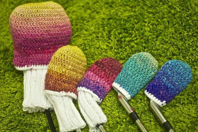 Amigurumi Golf Club Covers : 10 best images about Golf on Pinterest Vinyls, Buffalo ...