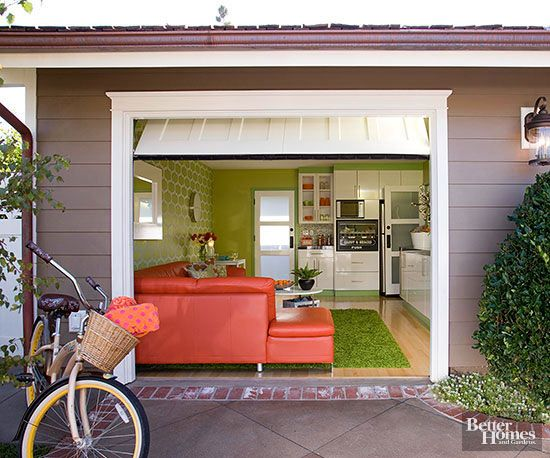 909 best images about small house obsession on pinterest for Garage transformation