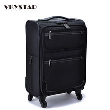 Oxford Trolley Bag Wheeled Luggage Vintage Large Rolling Travel Bag 22 Inch Suitcase Sack Spinner Men/Women Luggage Vkystar 007 //Price: $US $37.53 & FREE Shipping //   #watches #bracelets #rings #shirts #earrings #dress