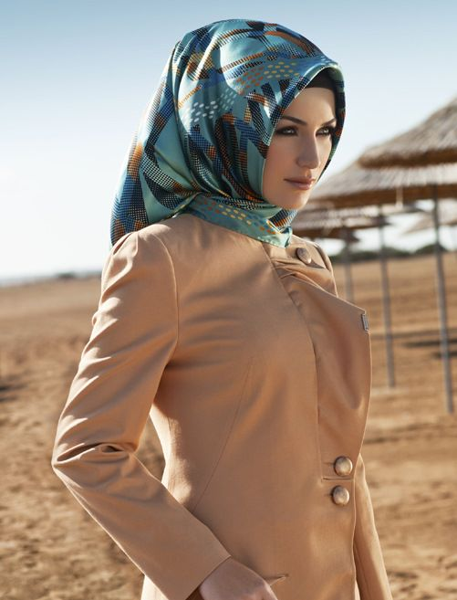 Turkish hijab style is always so elegant!