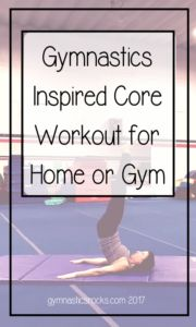 Hey Everyone! Today I'm sharing a couple videos of gymnastics conditioning moves that can be done at home and don't require you to be a gymnast to perform them or benefit from them! Mos…