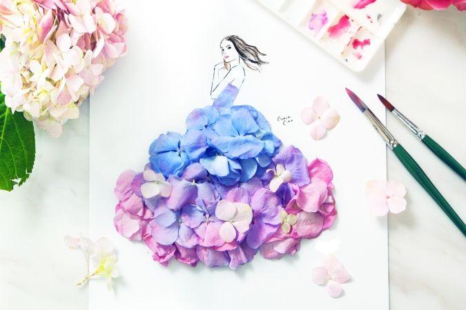 Цветочные платья Грейс Чао