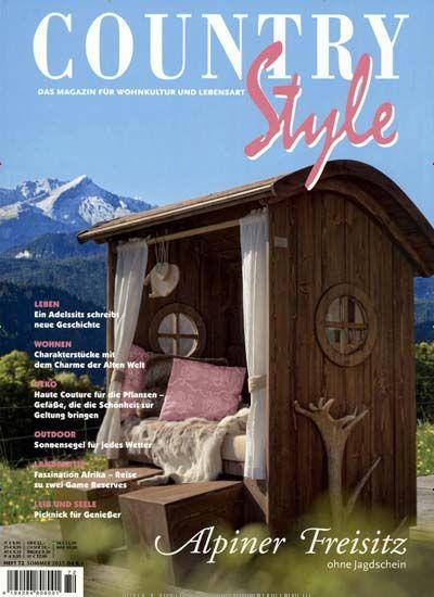 Alpiner Fresitz - ohne Jagdschein. Gefunden in: COUNTRY Style, Nr. 72/2015