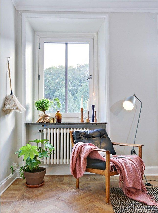 Amenajare scandinavă într-un apartament de 52 m²