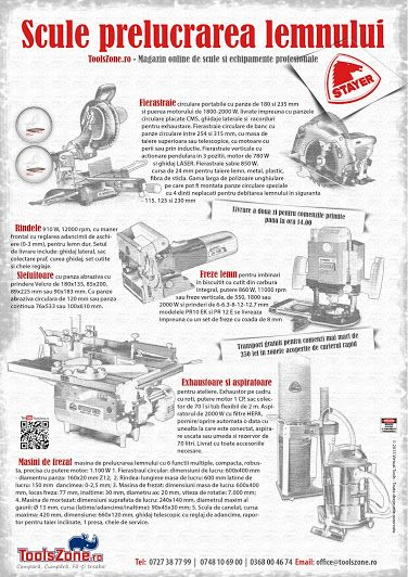 Scule prelucrarea lemnului STAYER ToolsZone.ro - Magazin online de scule si echipamente profesionale www.ToolsZone.ro