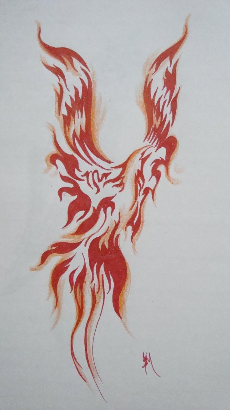 46 best red phoenix tattoo images on pinterest phoenix bird tattoos phoenix tattoo design and. Black Bedroom Furniture Sets. Home Design Ideas