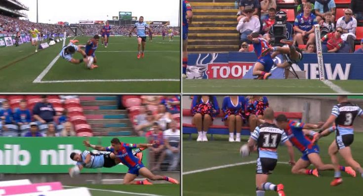 Rugby League player Valentine Holmes scored this unbelievable try today amazing skills. http://ift.tt/1sdO8N8 Love #sport follow #sports on @cutephonecases