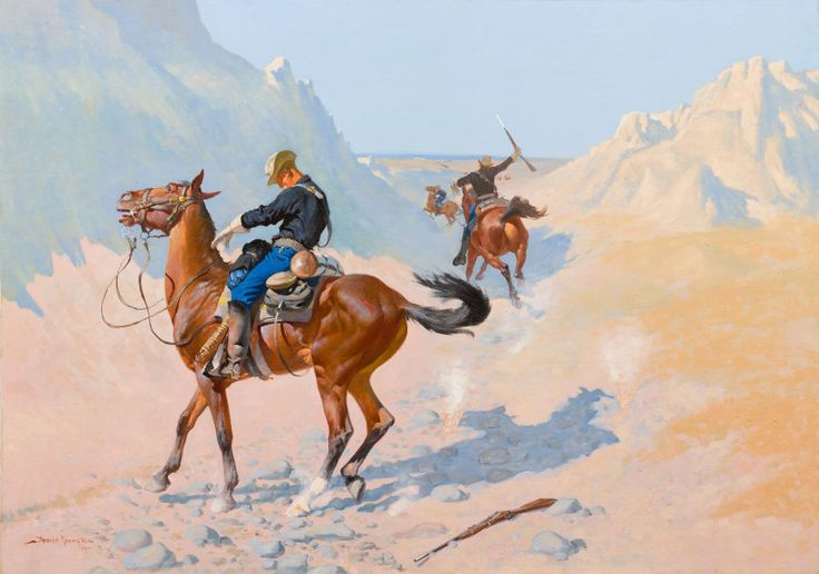 The Advance-Guard, or The Military Sacrifice (The Ambush), 1890
