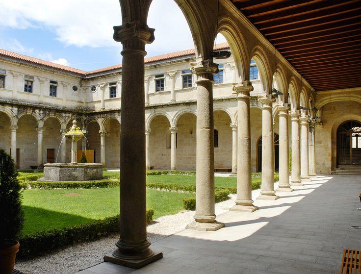 Eurostars Hotel Monumento Monasterio de San Clodio, Leiro, Ourense, Spain #eurostarshotels #monastery