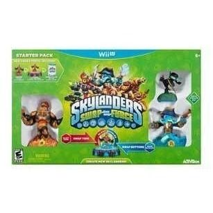 Skylanders Swap Force Starter Pack - Nintendo Wii U Damaged Box