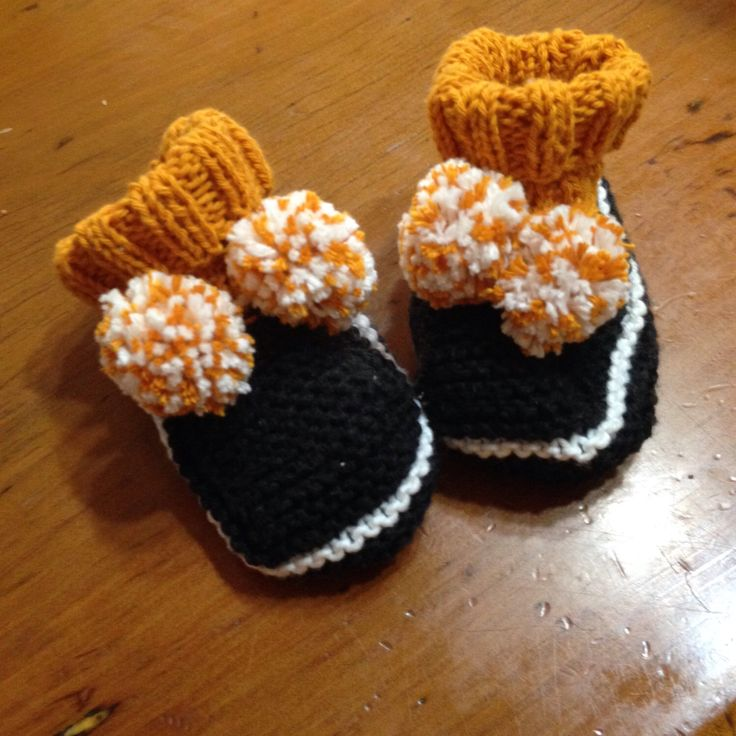 A personal favourite from my Etsy shop https://www.etsy.com/au/listing/504996937/yellow-pom-pom-booties