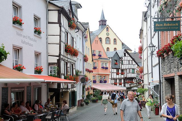 Metz to Koblenz - Bike Boat Tour - France - Germany - Luxembourg